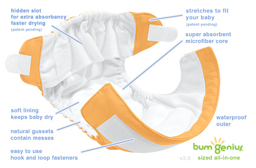 bumGenius! 3.0 All-in-One Diapers